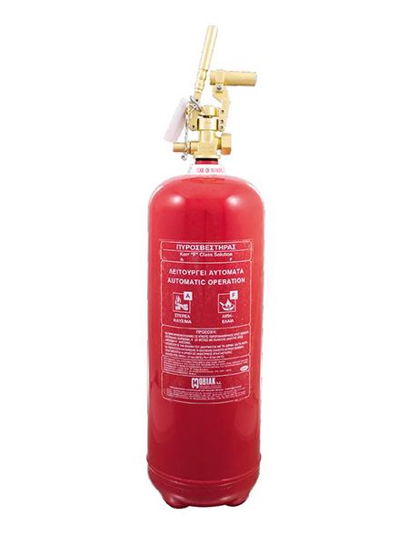 Πυροσβεστήρας Wet Chemical 6Lt F Class Τοπ. Εφαρμ. Θέση για Πυροκρ.