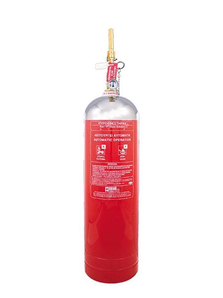 Πυροσβεστήρας Wet Chemical 10Lt F Class Τοπ. Εφαρμ. INOX