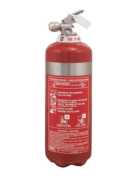 Πυροσβεστήρας Wet Chemical 2Lt F Class INOX