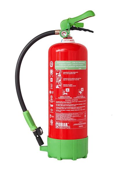 Πυροσβεστήρας 6Lt Οικολογικού Αφρού με Μεταλλική Βάση