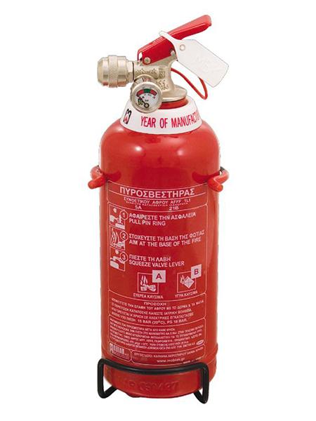 Πυροσβεστήρας 1Lt Οικολογικού Αφρού με Μεταλλική Βάση