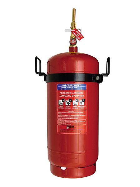 Πυροσβεστήρας 50Kg Ξηράς Σκόνης Τοπ. Εφαρμ. Θέση για Πυροκρ.