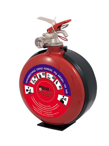 Πυροσβεστήρας Tύπου Φλασκί 1Κg Ξηράς Σκόνης