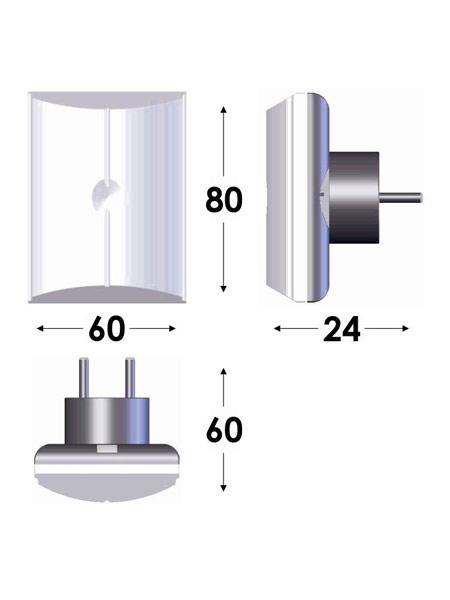 Επαναφωρτιζόμενο Φωτιστικό LED GR-11